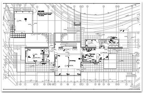 Main Level Electrical Plans